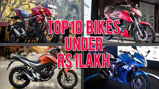 Top 10 Bikes In India Under Rs 1Lakh 2016