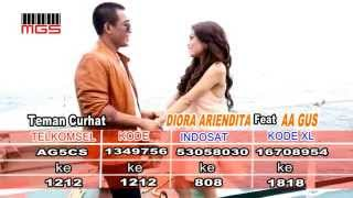 Download Lagu Teman Curhat - Diora Ariendita feat Aa Gus Original Klip mp3
