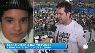 Gottino chora ao ouvir pai de vítima de Suzano (SP) falando do filho