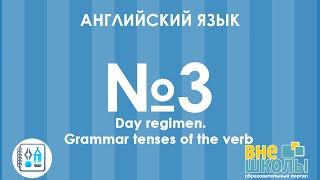 Онлайн-урок ЗНО. Английский язык №3. Day regimen. Tenses
