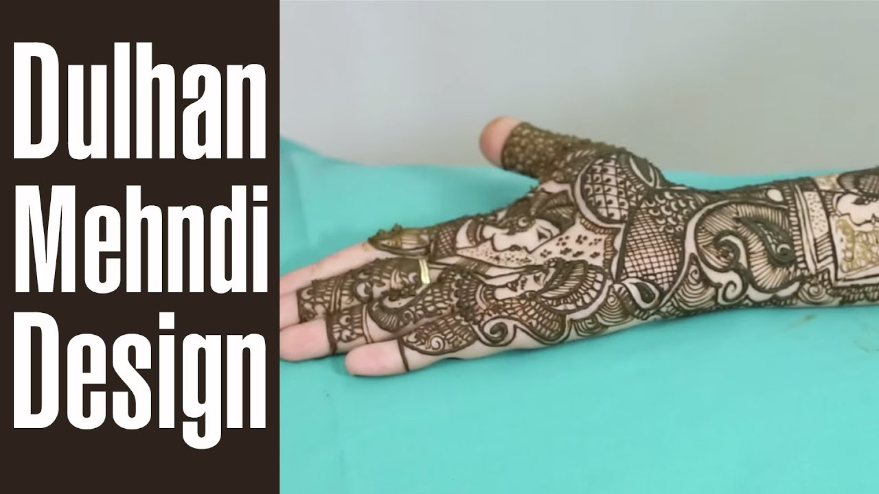 A To Z Mehndi Designs : Mindblowing bridal mehndi design to make your day even more special
