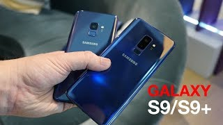 Samsung Galaxy S9 and Galaxy S9+ initial review - Hands on with the new flagships