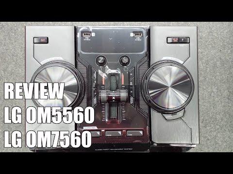 Review LG OM5560 y OM7560 Nuevos equipos multimedia Bluetooth 2016