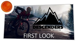 First Look - Descenders - Xbox One (Game Preview)