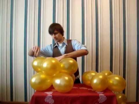 Воздушные шарики. Как самостоятельно украсить шарами.