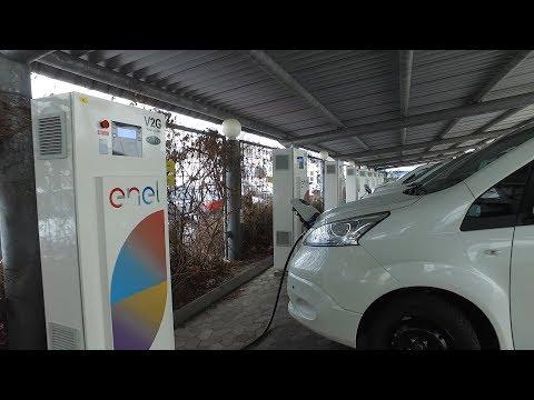 Nissan V2G in Copenhagen