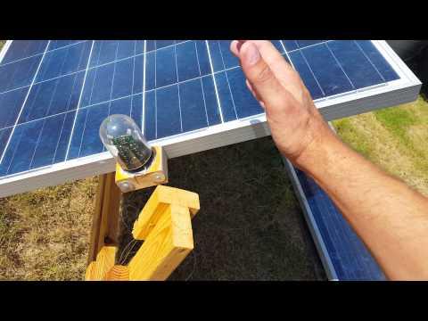 Homemade solar tracker