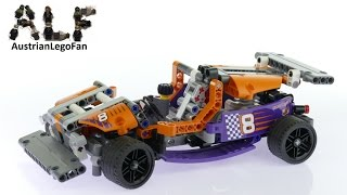 Lego Technic 42048 Track Car - Lego Speed Build Review