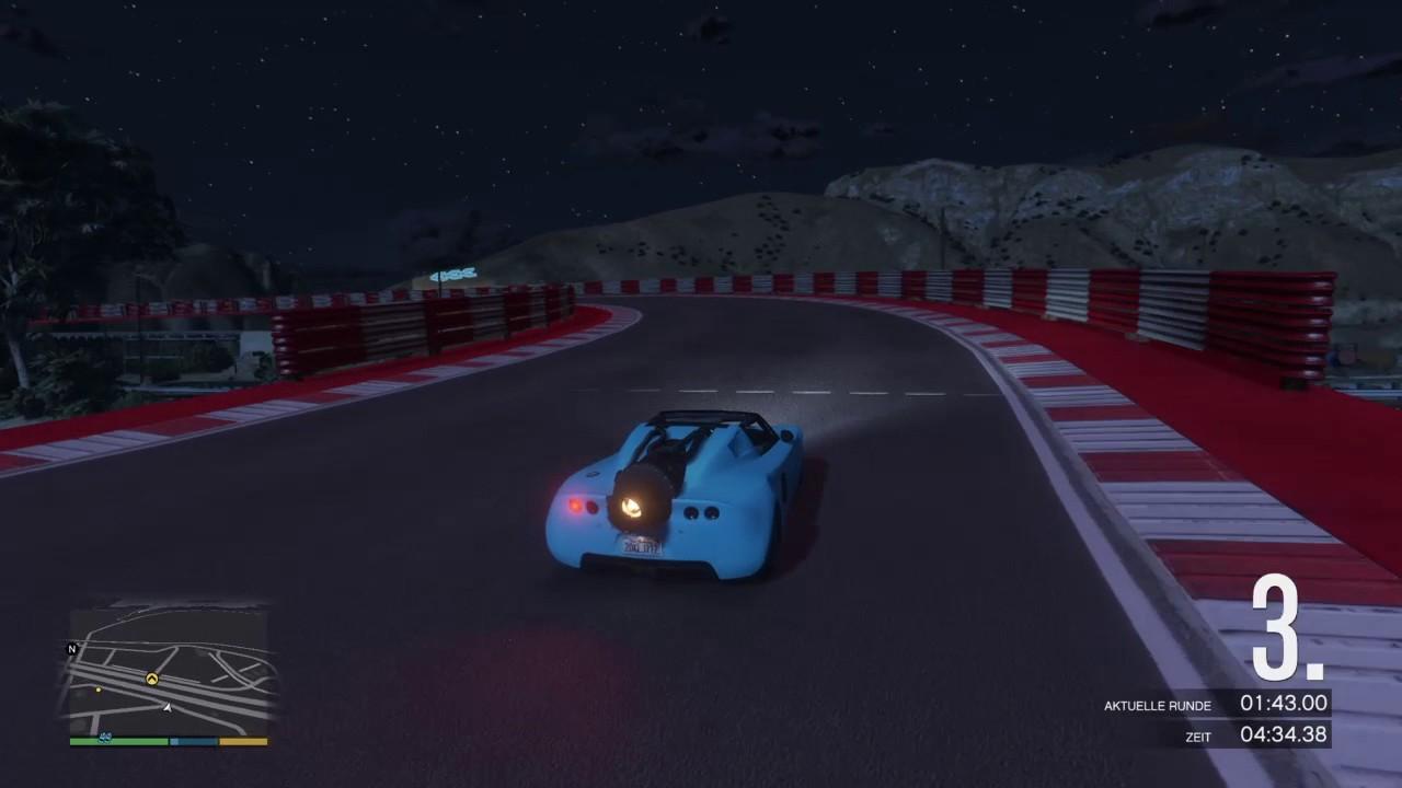 ROCKET VOLTIC RACE GTA V - CUSTOM MAP RENNEN