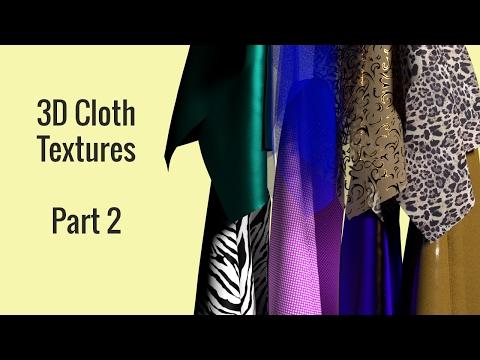 3D Cloth Textures Series - Part 2