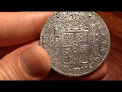 1783 Spanish 8 Reales Silver Coin