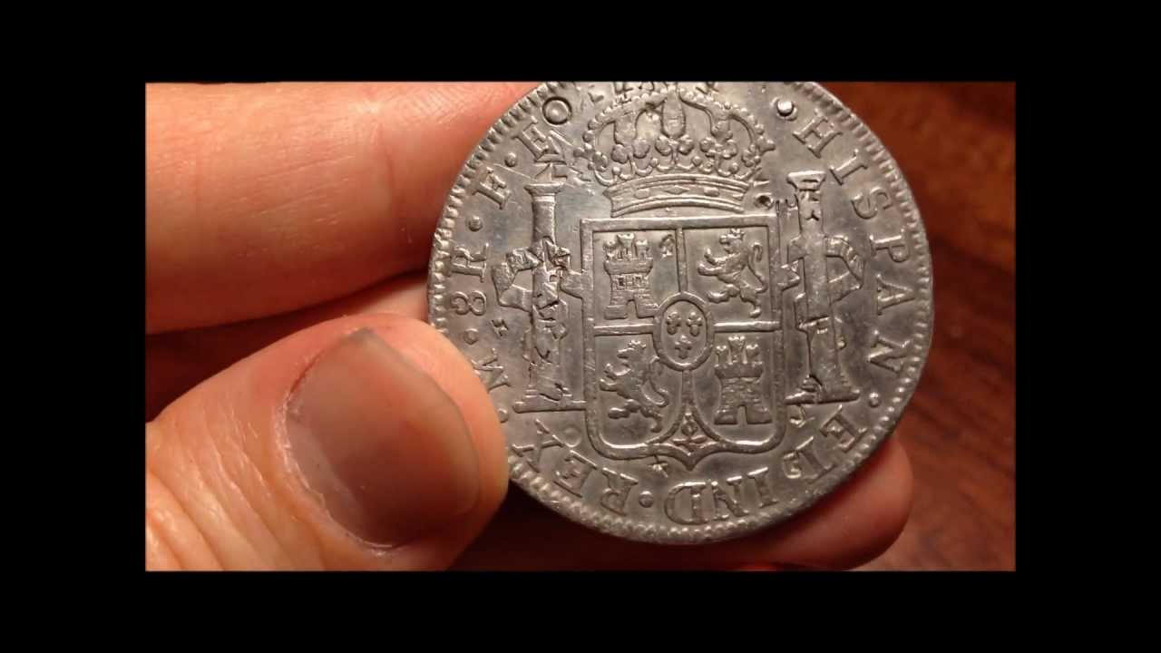1783 Spanish 8 Reales Silver Coin Youtube