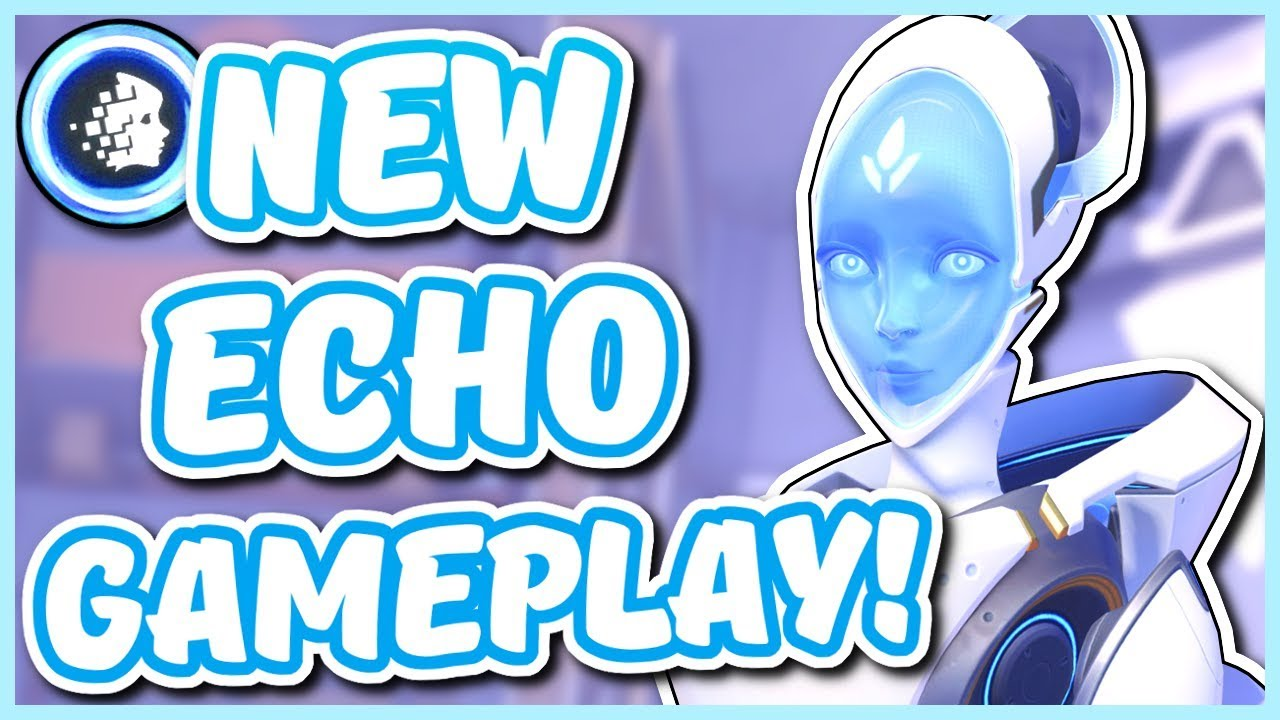 Download Overwatch - NEW ECHO GAMEPLAY (Echo's Ultimate and Abilities)