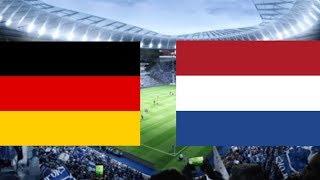 Deutschland - Niederlande | Nations League 2018 | 3.Spieltag | Prognose/Tipp
