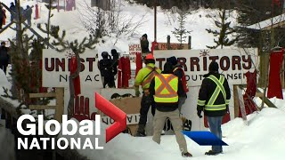 Global National: Feb. 12, 2020 | Cross-Canada pipeline protests tensions increase