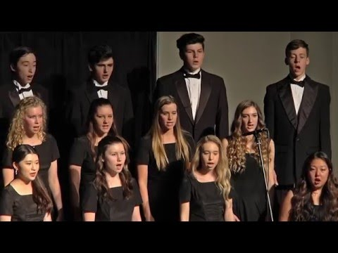 Santiam Christian Schools 2015 Christmas Program - Senior High Choir
