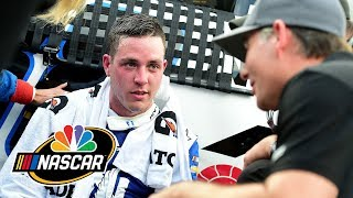 Alex Bowman downplays Bubba Wallace's actions at Charlotte Roval | Motorsports on NBC