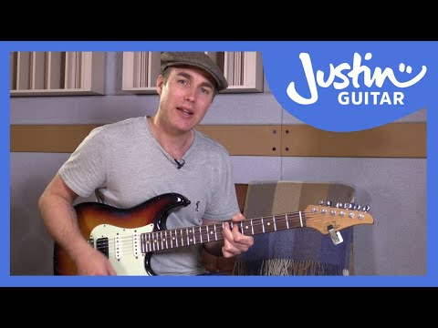 Funk Essential Elements: Space, Sustain & Staccato: Funk Guitar Course Lesson Tutorial s1p7