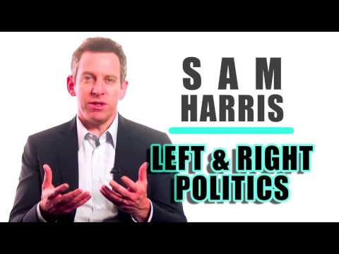 Sam Harris   Left & Right Wing Politics