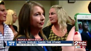 Betty Shelby takes the stand