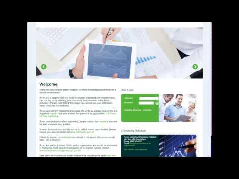 Social Business Growth Fund: Registering on eTenderWales