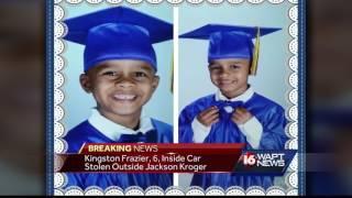 Amber Alert: Kidnapped boy in stolen car