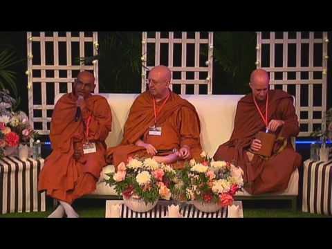Q&A Sessions by Ven. Uda Eriyagama Dhammajīva Mahā Thero, Ajahn Brahm &  Yuttadhammo Bhikkhu