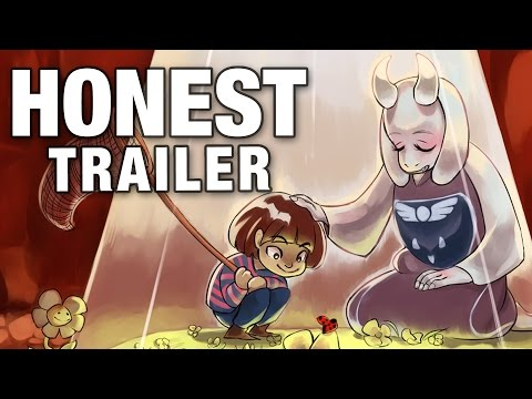 UNDERTALE (Honest Game Trailers)