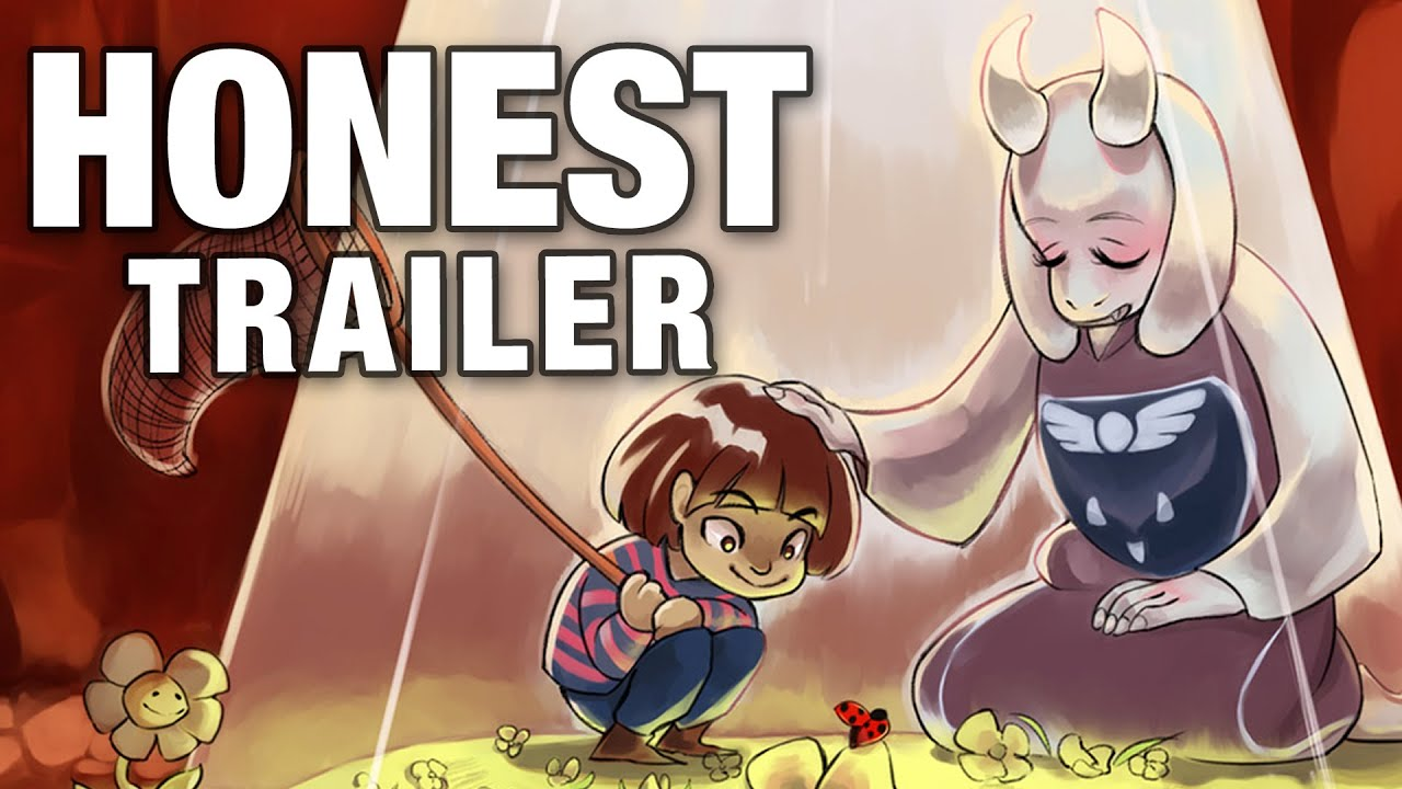 How To Make Anime Wallpaper Undertale Honest Game Trailers Youtube