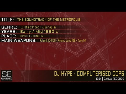 Dj Hype - Computerised Cops (Ganja Records | 1994)