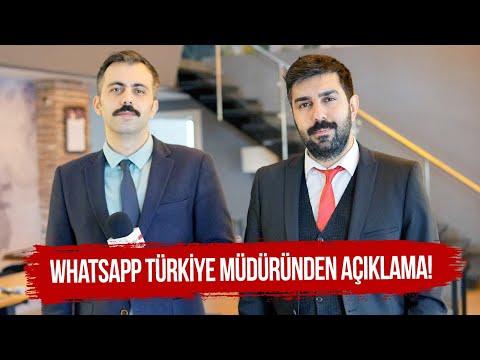 Whatsapp Türkiye Müdüründen Açıklama!