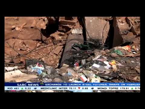 Heavy police presence at Princess informal settlements as residents protest