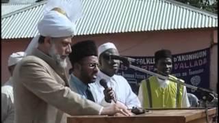 Tour of Benin, Porto-Novo, Parakou, Allada, Dasa, 2004 by Hadhrat Mirza Masroor Ahmad