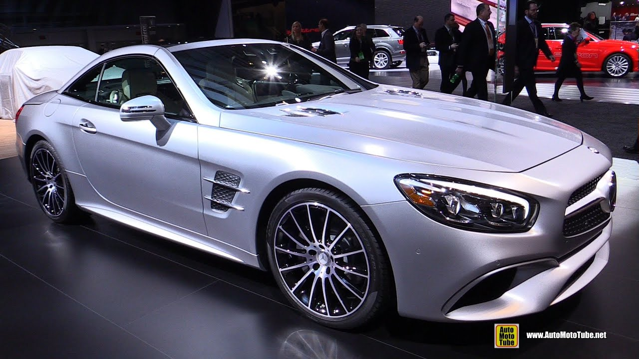 2017 Mercedes Sl Cl Sl550 Exterior And Interior Walkaround 2016 Detroit Auto Show