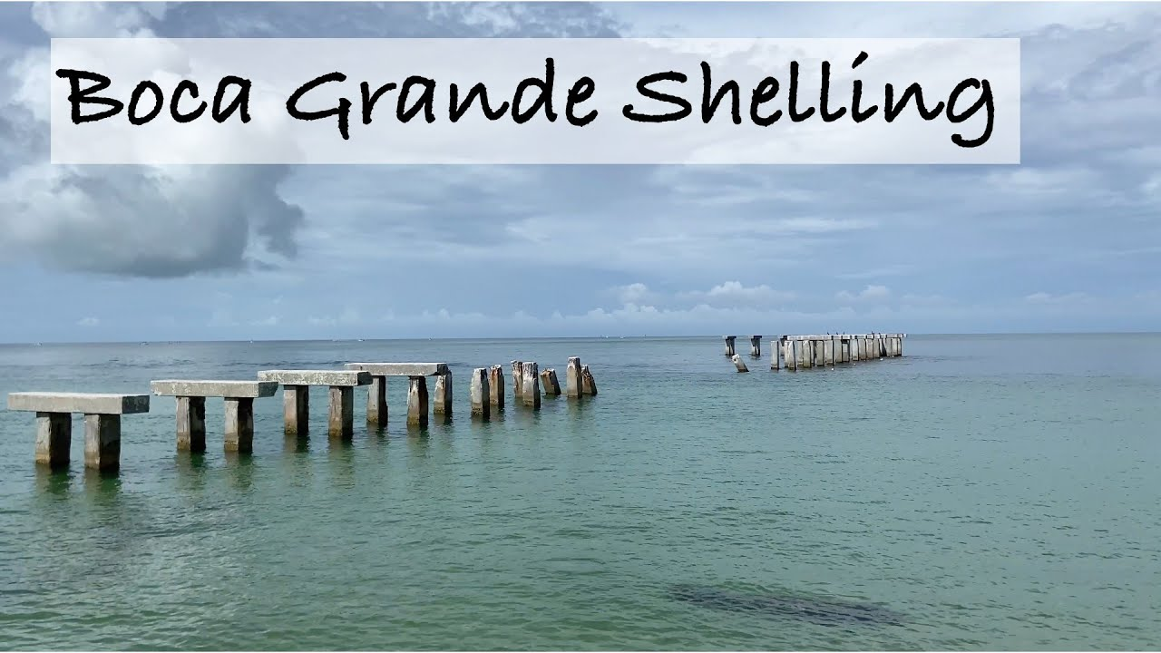 Boca Grande - finding shells at Gasparilla State Park. What is the deal with the 2 lighthouses?
