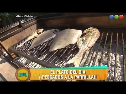 Receta: Pescados a la parrilla - Morfi