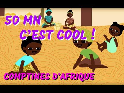 50min de Chansons à geste et Comptines africaines pour les petits
