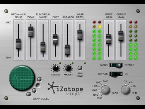 FREE Vinyl IZOTOPE Plugin - LoFi Audio