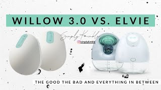 WILLOW 3.0 vs ELVIE REVIEW - WILLOW GEN 3 vs ELVIE PUMP - IS WILLOW WORTH THE MONEY- WILLOW VS ELVIE