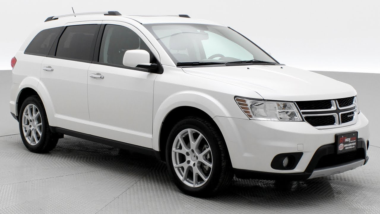 2017 Dodge Journey Gt Awd 7 Penger Rear Dvd Sunroof Ridetime Ca