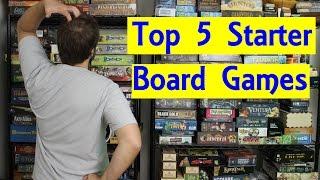 Top 5 Starter Board Games