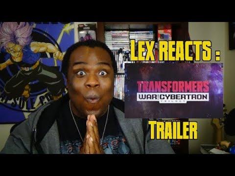 Lex Reacts: Transformers: War For Cybertron Trilogy: Siege Trailer
