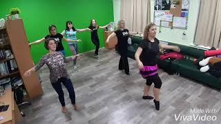 Обучение Восточному танцу в клуб ЗОЖ МАК