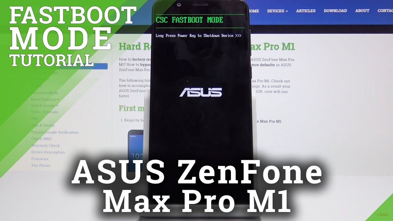 Fastboot Mode ASUS ZenFone Max Pro M1 – How to Open & Use ASUS Fastboot