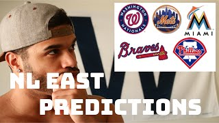 2019 MLB Standing Predictions NL EAST (w/out Bryce Harper)