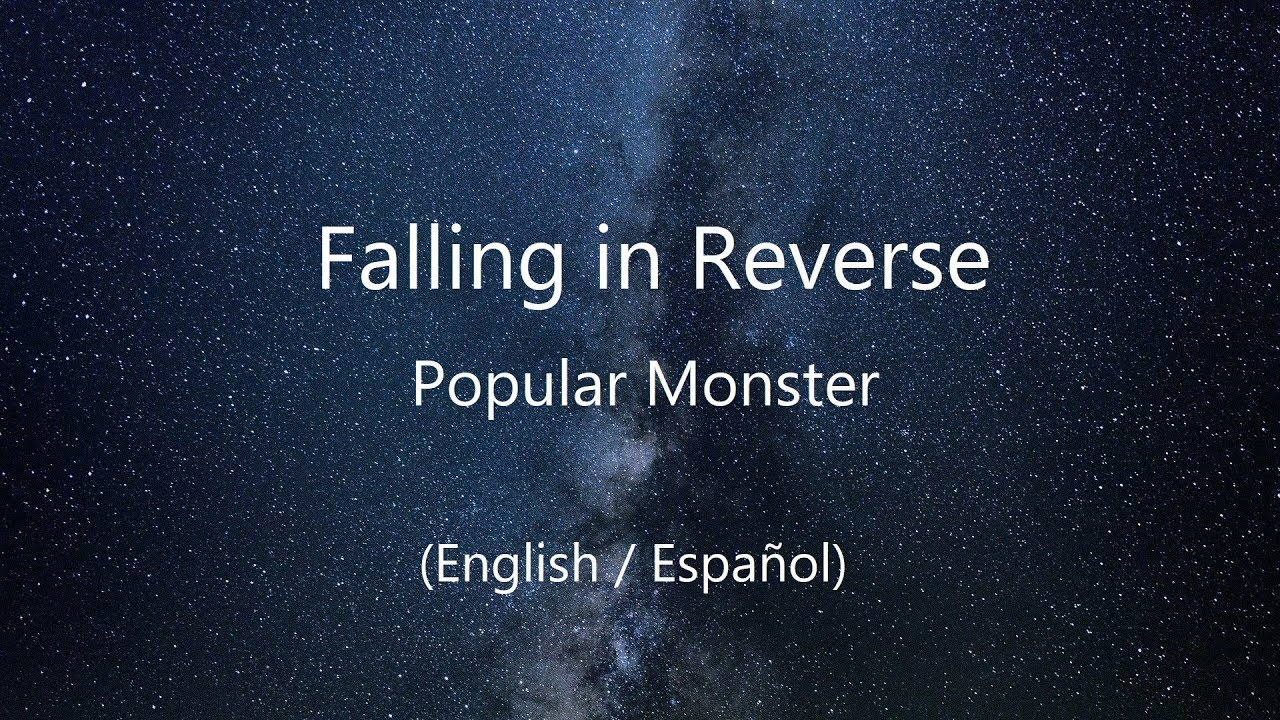 Falling in Reverse - Popular Monster (English Lyrics / Sub Español)