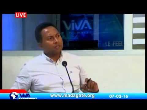 Augustin Andriamananoro VIVA TV 07 février 2016