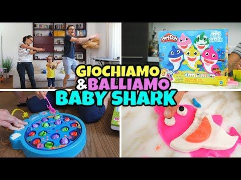 BABY SHARK: BALLIAMO e GIOCHIAMO con il PLAY DOH Famiglia Shark