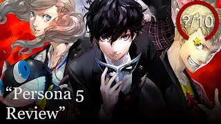 Persona 5 PS4 Review (Video Game Video Review)