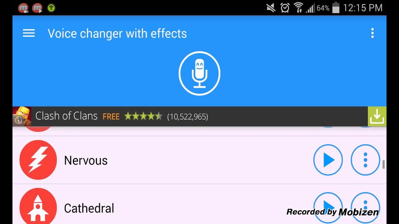 نتيجة بحث الصور عن Voice changer with effects